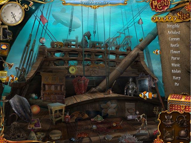 10 Days Under The Sea Game screenshot 3