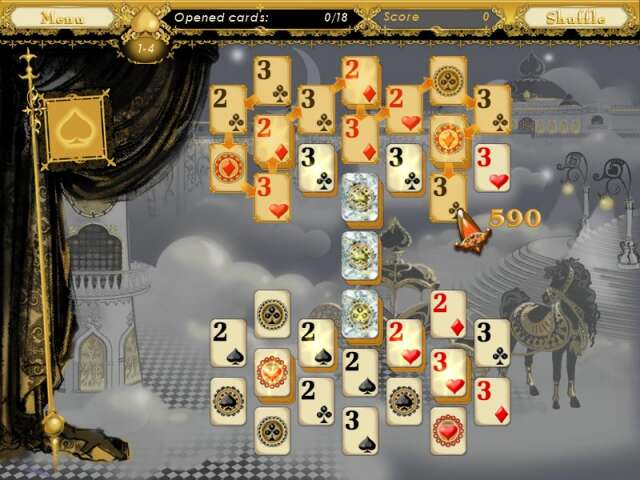 5 Realms of Cards Game screenshot 2
