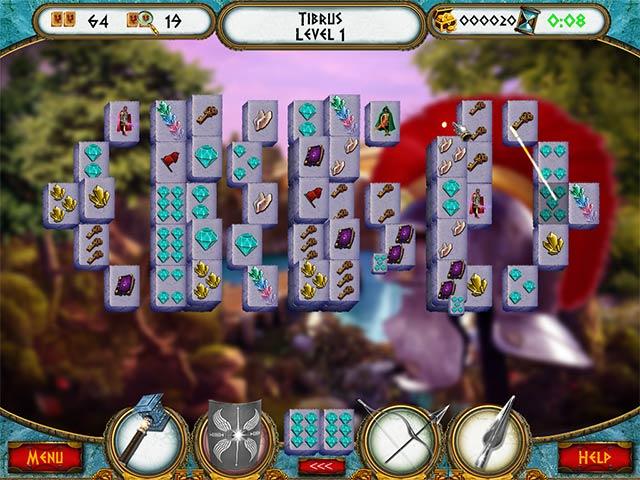 7 Hills of Rome Mahjong Game screenshot 1