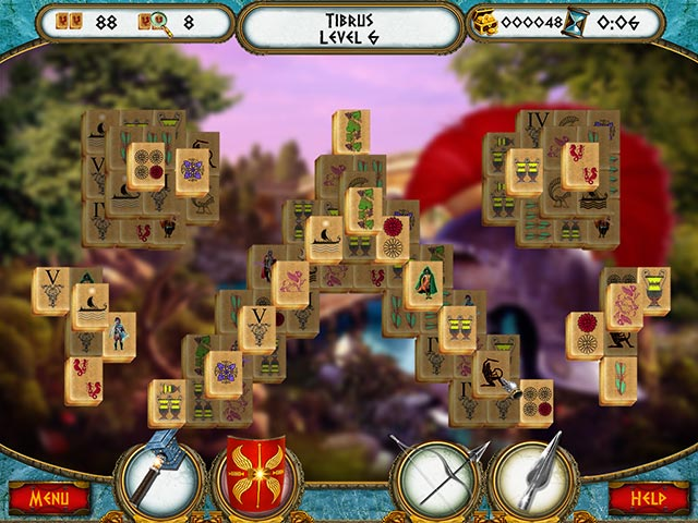 7 Hills of Rome Mahjong Game screenshot 2