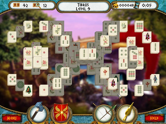 7 Hills of Rome Mahjong Game screenshot 3