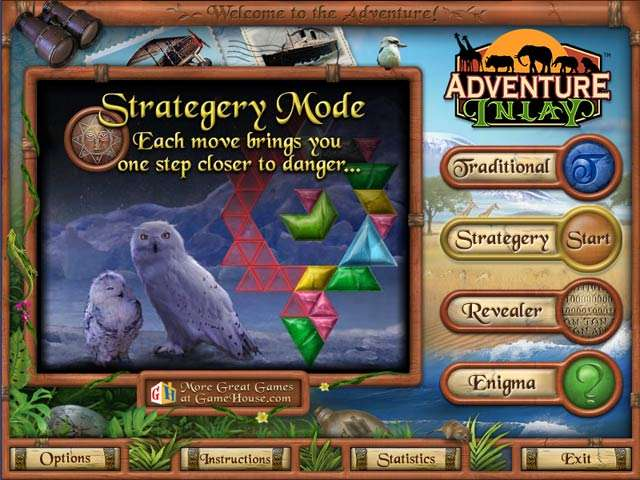 Adventure Inlay: Safari Edition Game screenshot 1