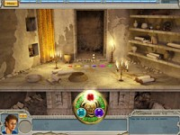 Alabama Smith in Escape from Pompeii Game screenshot 1