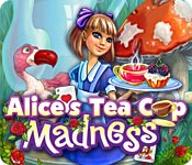 Free Alice's Tea Cup Madness Game