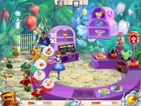Alice's Tea Cup Madness Game screenshot 1
