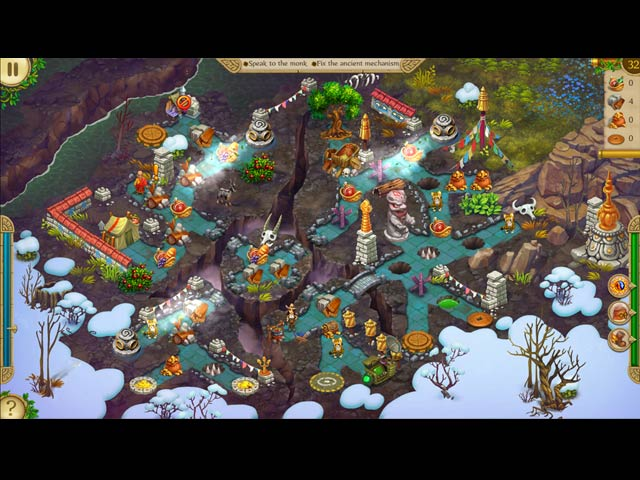 Alicia Quatermain and The Stone of Fate Game screenshot 1