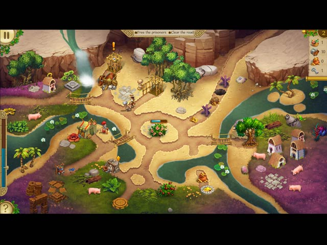 Alicia Quatermain and The Stone of Fate Game screenshot 3