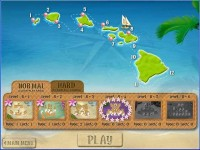 Aloha Solitaire Game screenshot 1