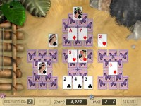 Aloha Solitaire Game screenshot 2