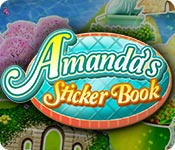 Free Amanda's Sticker Book Game