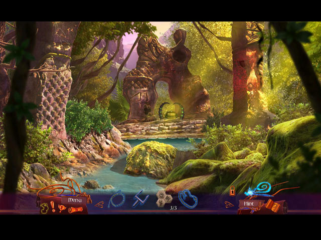 Amaranthine Voyage: The Burning Sky Collector's Edition Game screenshot 1