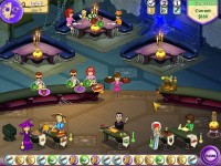 Amelie's Cafe: Halloween Game screenshot 2
