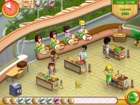 Amelie's Cafe Game screenshot 1