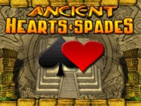 Ancient Hearts and Spades Game screenshot 1