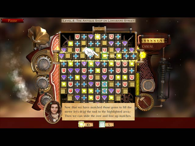 Antique Shop: Lost Gems London Game screenshot 3