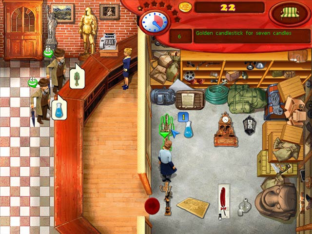 Antique Shop Game screenshot 1