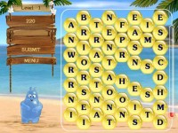 Aqua Words for PocketPC Game screenshot 2