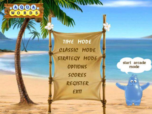 Aqua Words Game screenshot 1