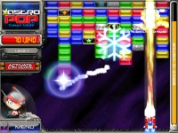 AstroPop Deluxe Game screenshot 1