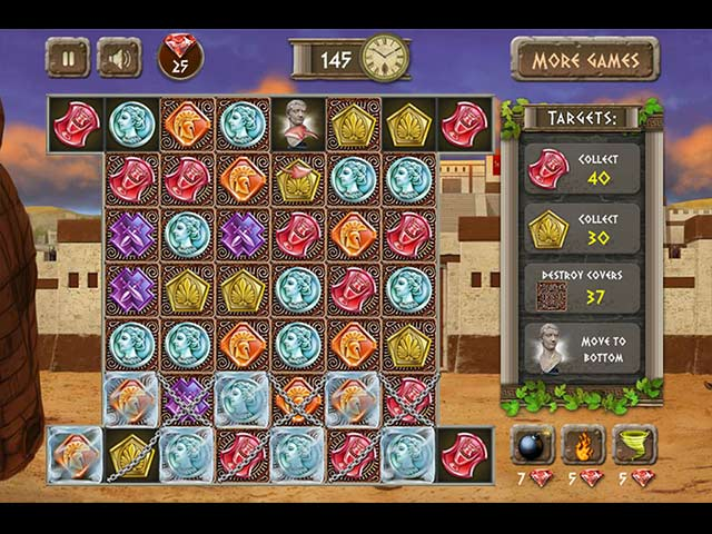 Athens Treasure Game screenshot 1