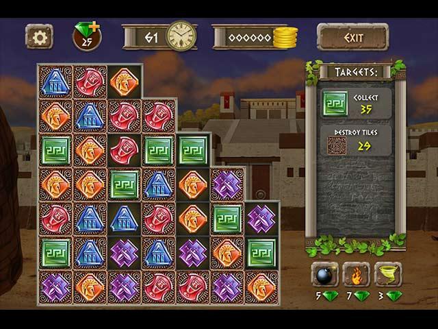 Athens Treasure Game screenshot 3