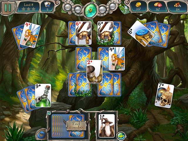 Avalon Legends Solitaire 2 Game screenshot 3