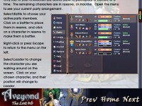 Aveyond: The Lost Orb Strategy Guide Game screenshot 1
