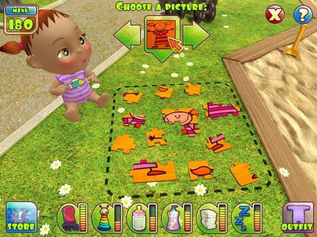 baby games  for