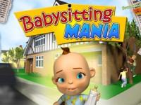 Babysitting Mania Game screenshot 1