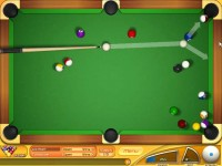 Backspin Billiards Game screenshot 1