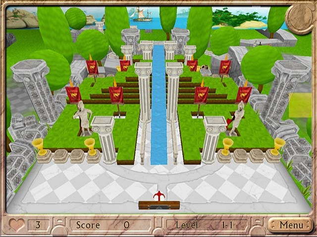 Ball-Buster Collection Game screenshot 1