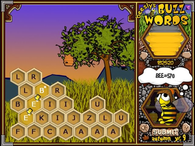 Beesly's Buzzwords Game screenshot 1