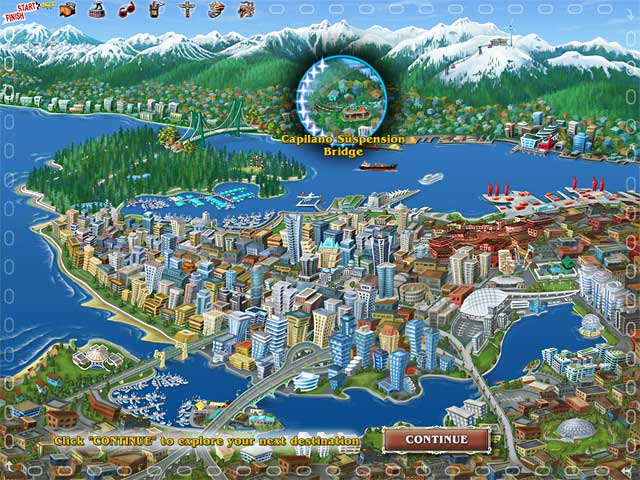 Big City Adventure: Vancouver Game screenshot 1