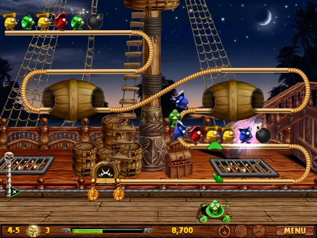 Bird Pirates Game screenshot 1