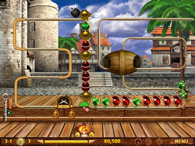 Bird Pirates Game screenshot 2