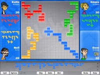 Blokus World Tour Game screenshot 1