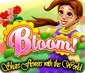 Free Bloom! Share flowers with the World Game