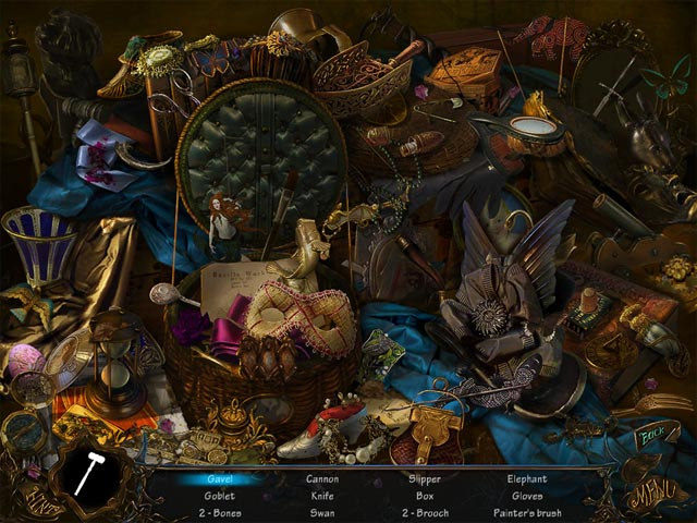 Bluebeard's Castle Game screenshot 1