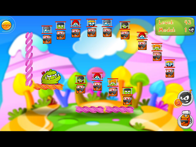 Bomb the Monsters! Game screenshot 2