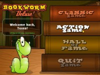 Bookworm Deluxe Game screenshot 1