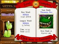 Bookworm Deluxe Game screenshot 3