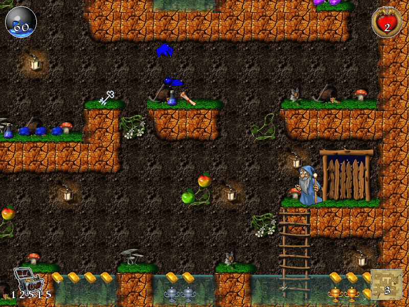 Brave Dwarves: Back for Treasures Game screenshot 2