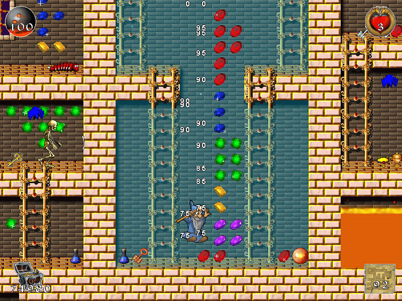 Brave Dwarves: Back for Treasures Game screenshot 3
