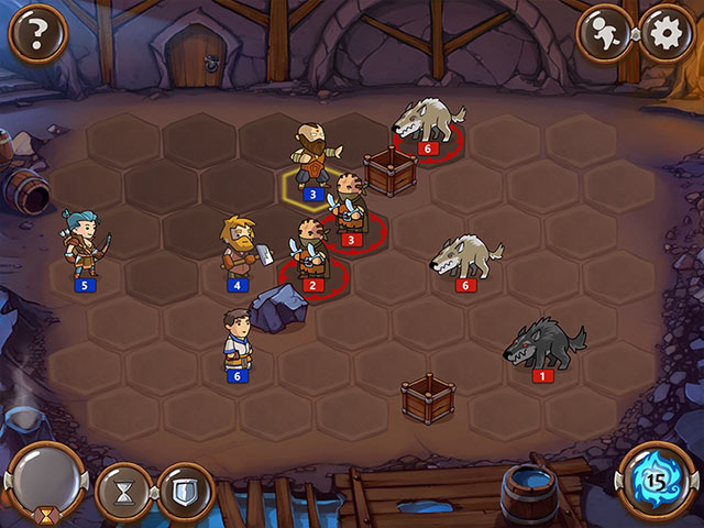 Braveland Wizard Game screenshot 1