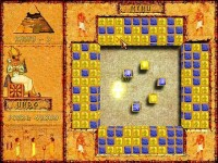 Brickshooter Egypt Game screenshot 2