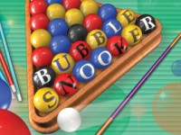 Bubble Snooker Game screenshot 1