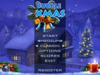 Bubble Xmas for PocketPC Game screenshot 1