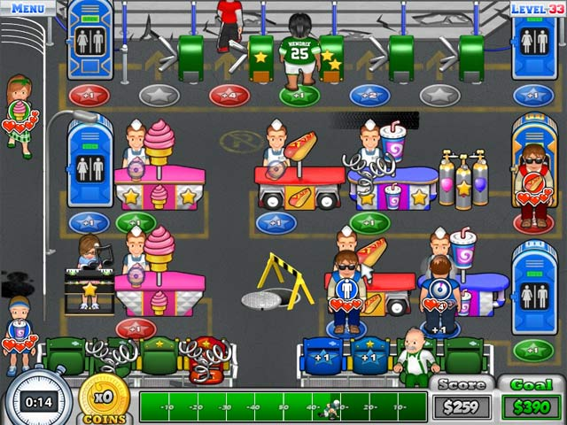 Busy Bea's Halftime Hustle Game screenshot 3