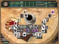 Cafe Mahjongg Game screenshot 1