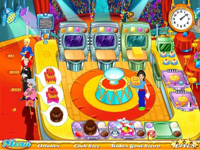 Cake Mania Game screenshot 1